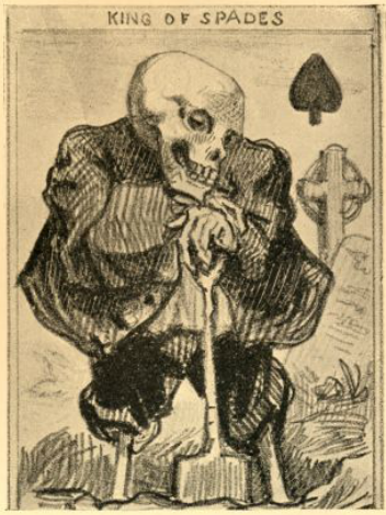 Playing card, 1840