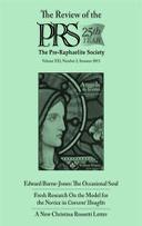 Pre-Raphaelite Society Review