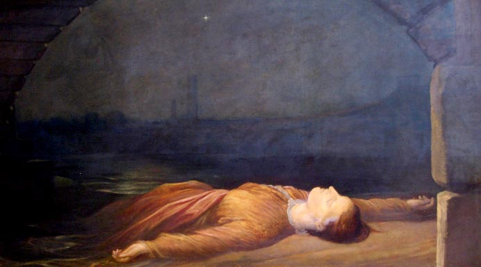 Found Drowned - George Frederick Watts