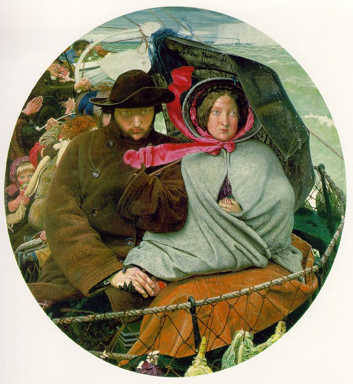Ford Madox Brown - The Last of England