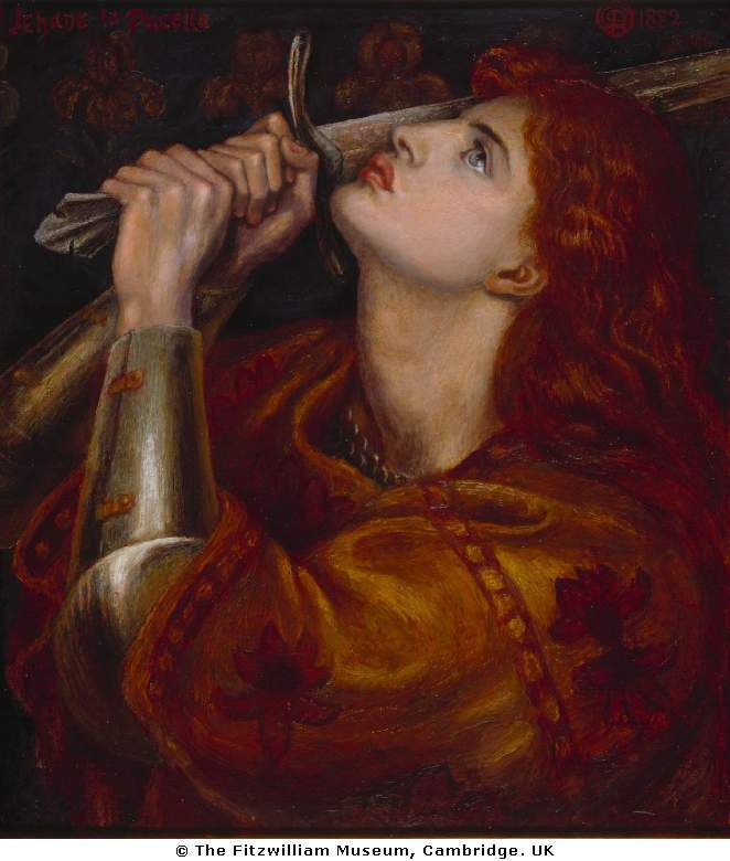Dante Gabriel Rossetti - Joan of Arc
