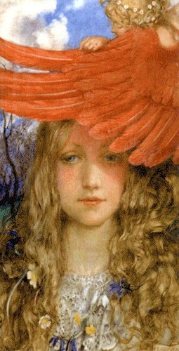 Eleanor Fortescue Brickdale - The Blush